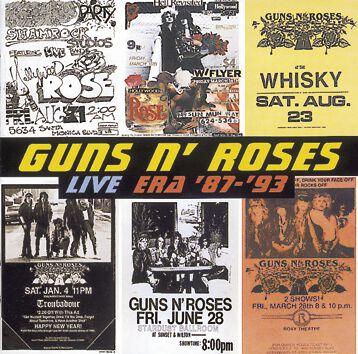 Image of   Guns N' Roses Live era 1987-93 2-CD standard