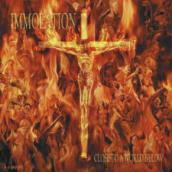 Immolation Close to a world below CD Standard