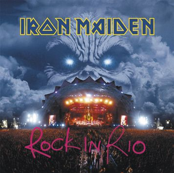 Image of   Iron Maiden Live at Rock In Rio 2-CD standard