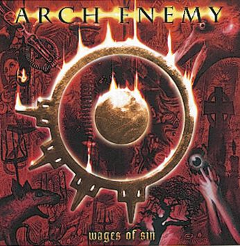 Image of   Arch Enemy Wages of sin 2-CD standard