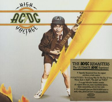 Image of   AC/DC High voltage CD standard