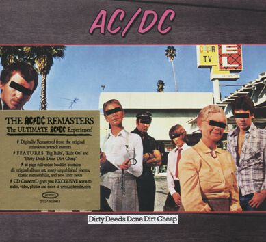 Image of   AC/DC Dirty deeds done dirt cheap CD standard