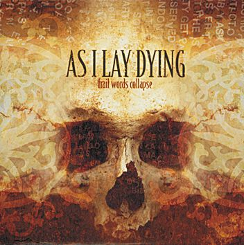 Image of   As I Lay Dying Frail words collapse CD standard