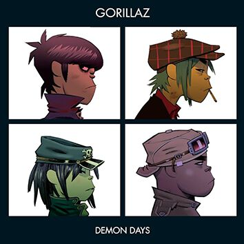 Gorillaz Demon days CD standard