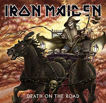Image of   Iron Maiden Death on the road 2-CD standard