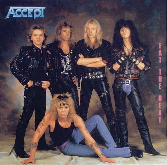 Image of   Accept Eat the heat CD standard