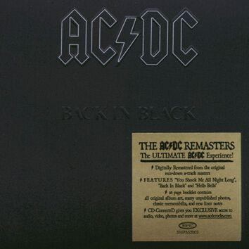 Image of   AC/DC Back in black CD standard