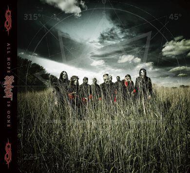 Image of   Slipknot All hope is gone CD standard