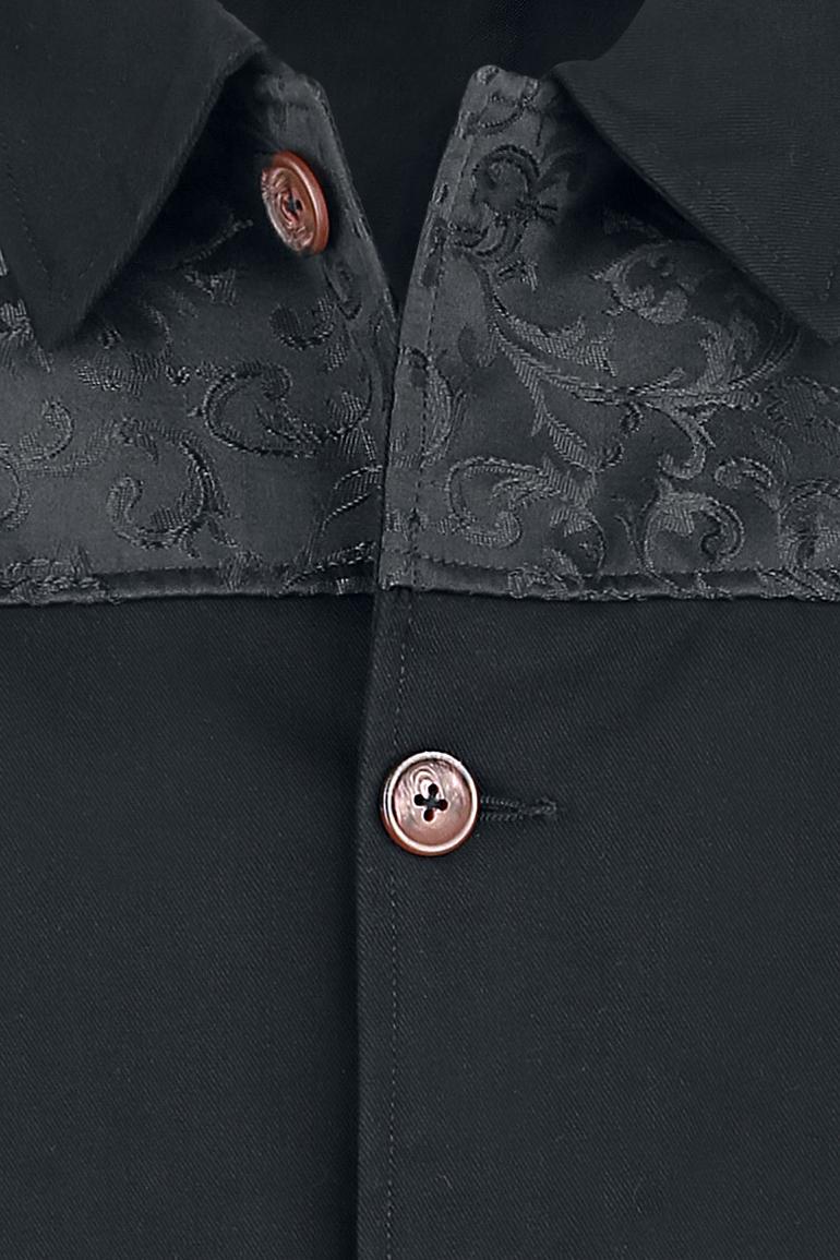 Image of Altana Industries Brocade Uniform Jacke schwarz