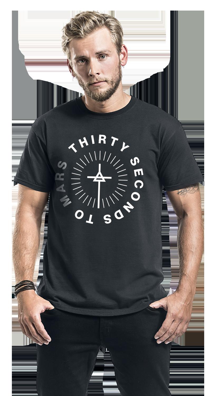Image of 30 Seconds To Mars Monolith Logo T-Shirt schwarz