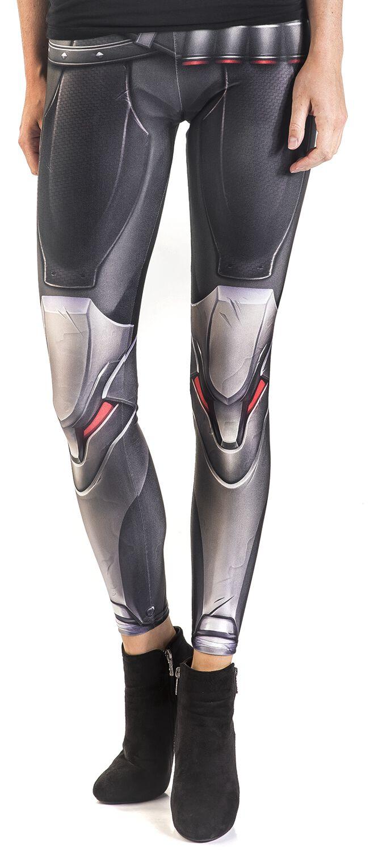 Hosen für Frauen - Overwatch Wild Bangarang Reaper Cosplay Leggings multicolour  - Onlineshop EMP
