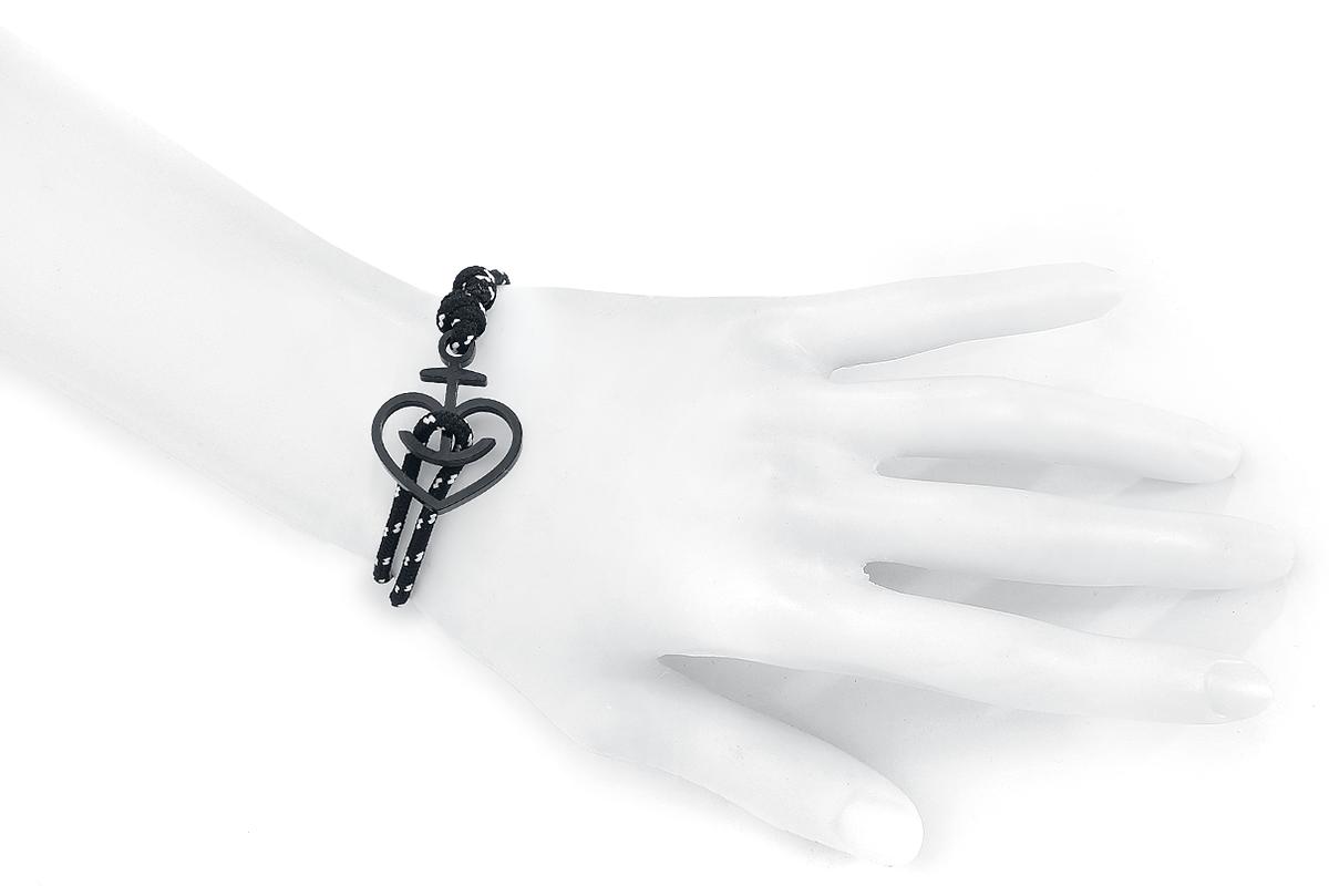 Image of Astra Herzanker Armband schwarz