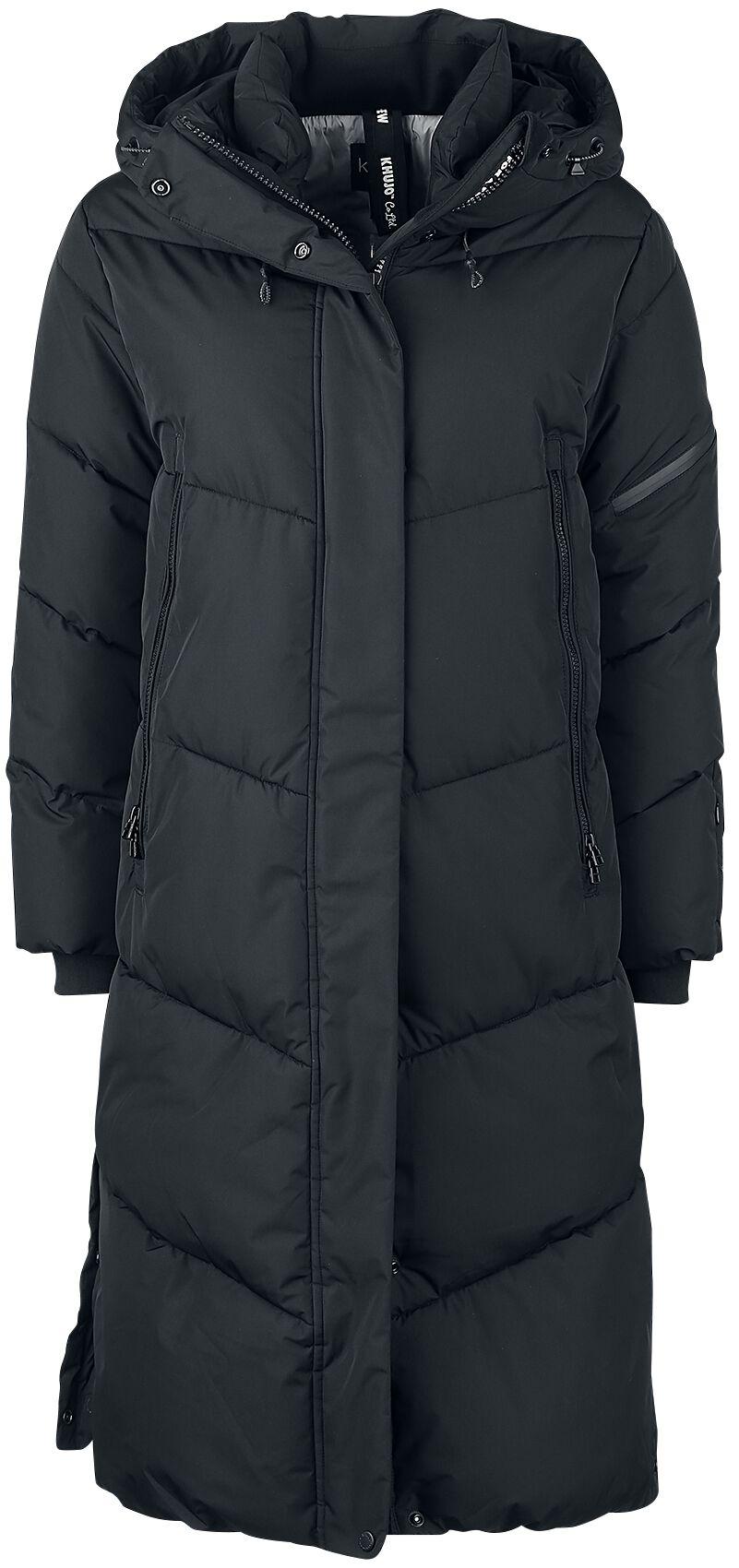 Jacken für Frauen - Khujo Sonje Wintermantel schwarz  - Onlineshop EMP