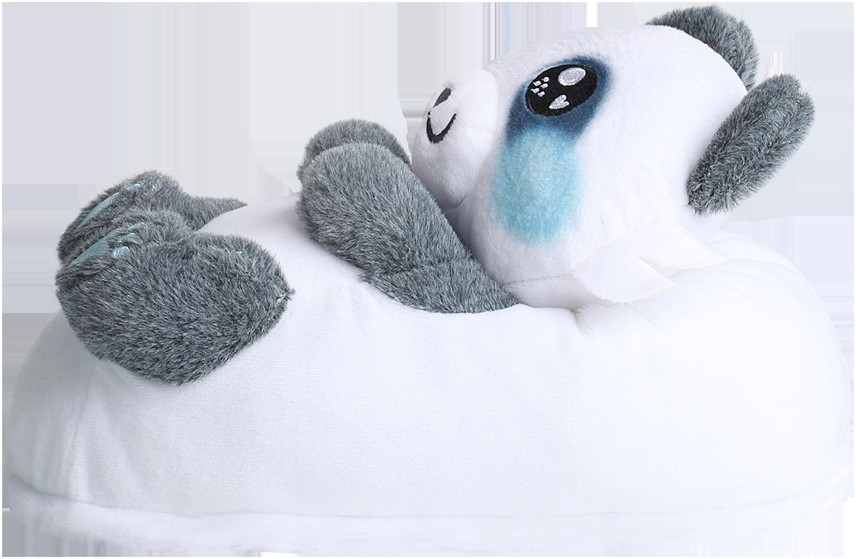 Image of Corimori Mei - The Panda Hausschuhe weiß