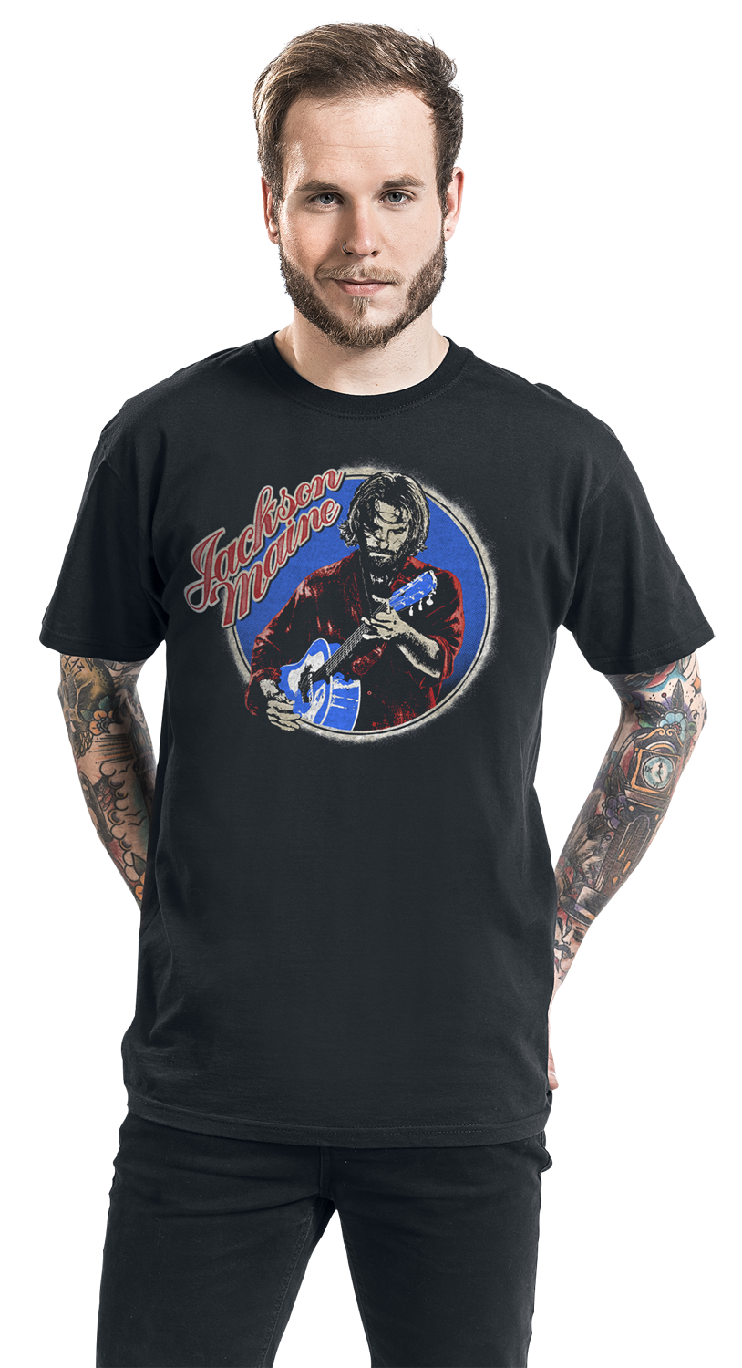 Image of A Star Is Born Jackson Maine T-Shirt schwarz