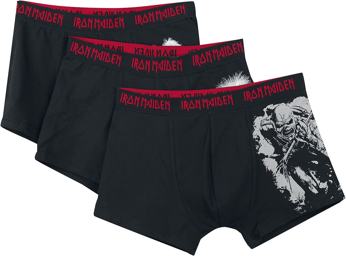 Image of Iron Maiden EMP Signature Collection Boxershort schwarz