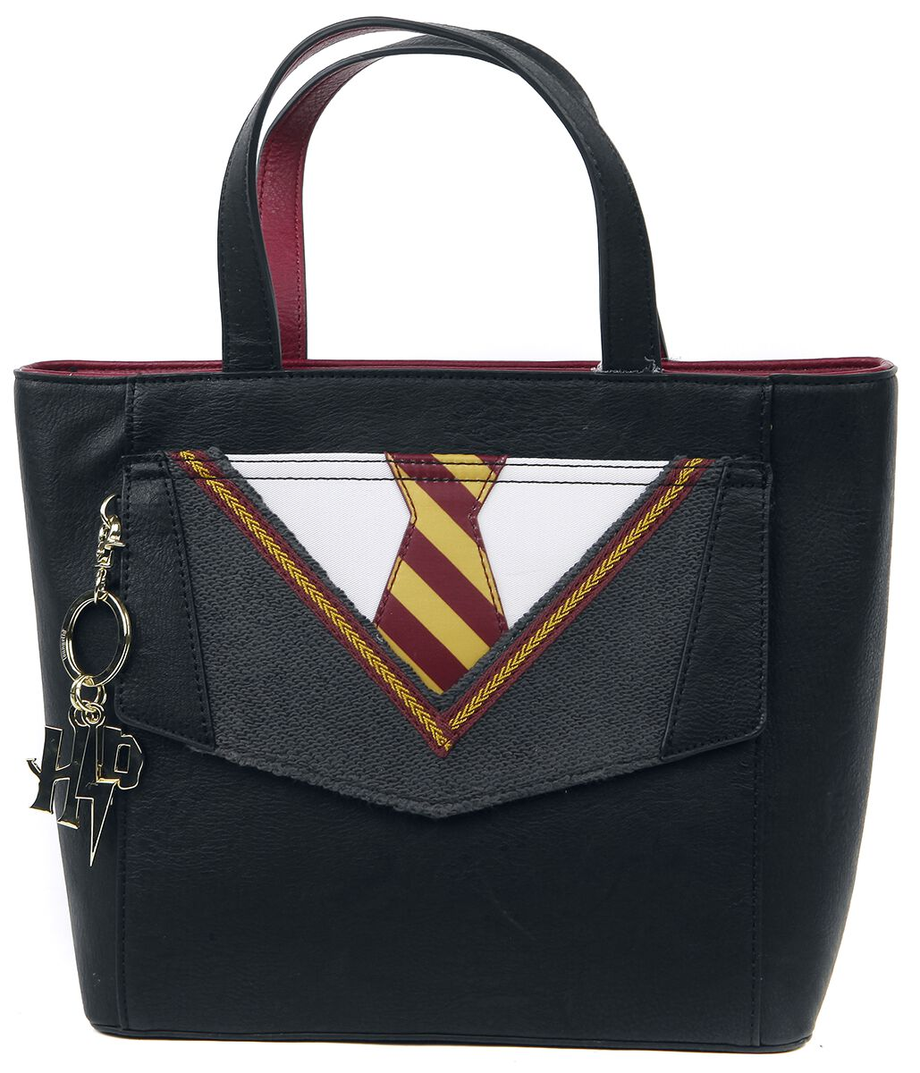 Handtaschen - Harry Potter Loungefly Gryffindor Uniform Handtasche schwarz  - Onlineshop EMP