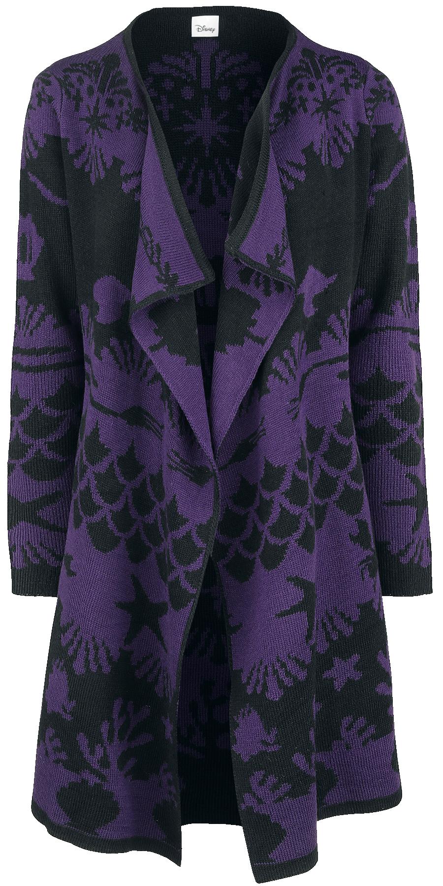 The Little Mermaid - Under Water - Girls' cardigan - purple-black image