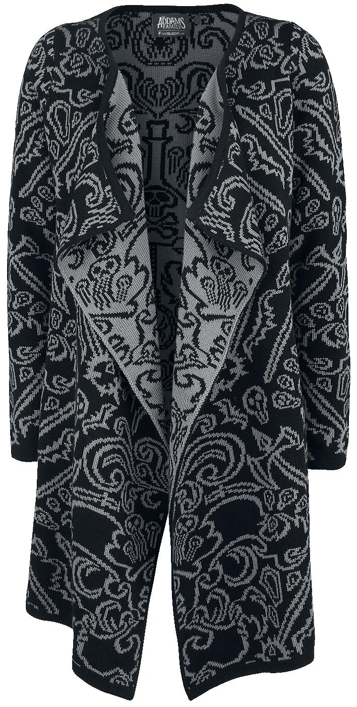 The Addams Family - Allover - Girls sweatshirt - black-grey image