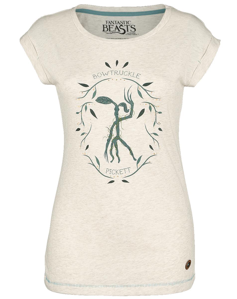 Fantastic Beasts - Pickett - Girls shirt - mottled cream image