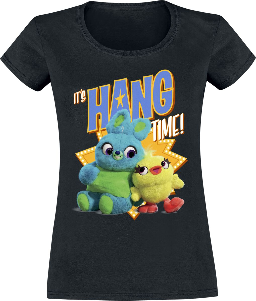 Toy Story 4 - Hang Time Girl-Shirt schwarz