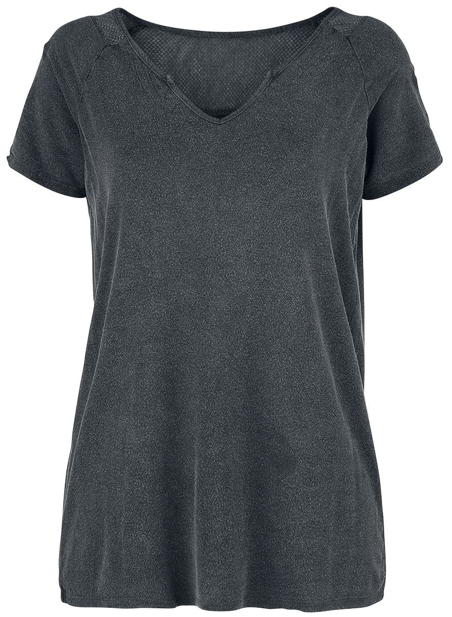Black Premium by EMP - Loud And Clear - Girls shirt - grey image