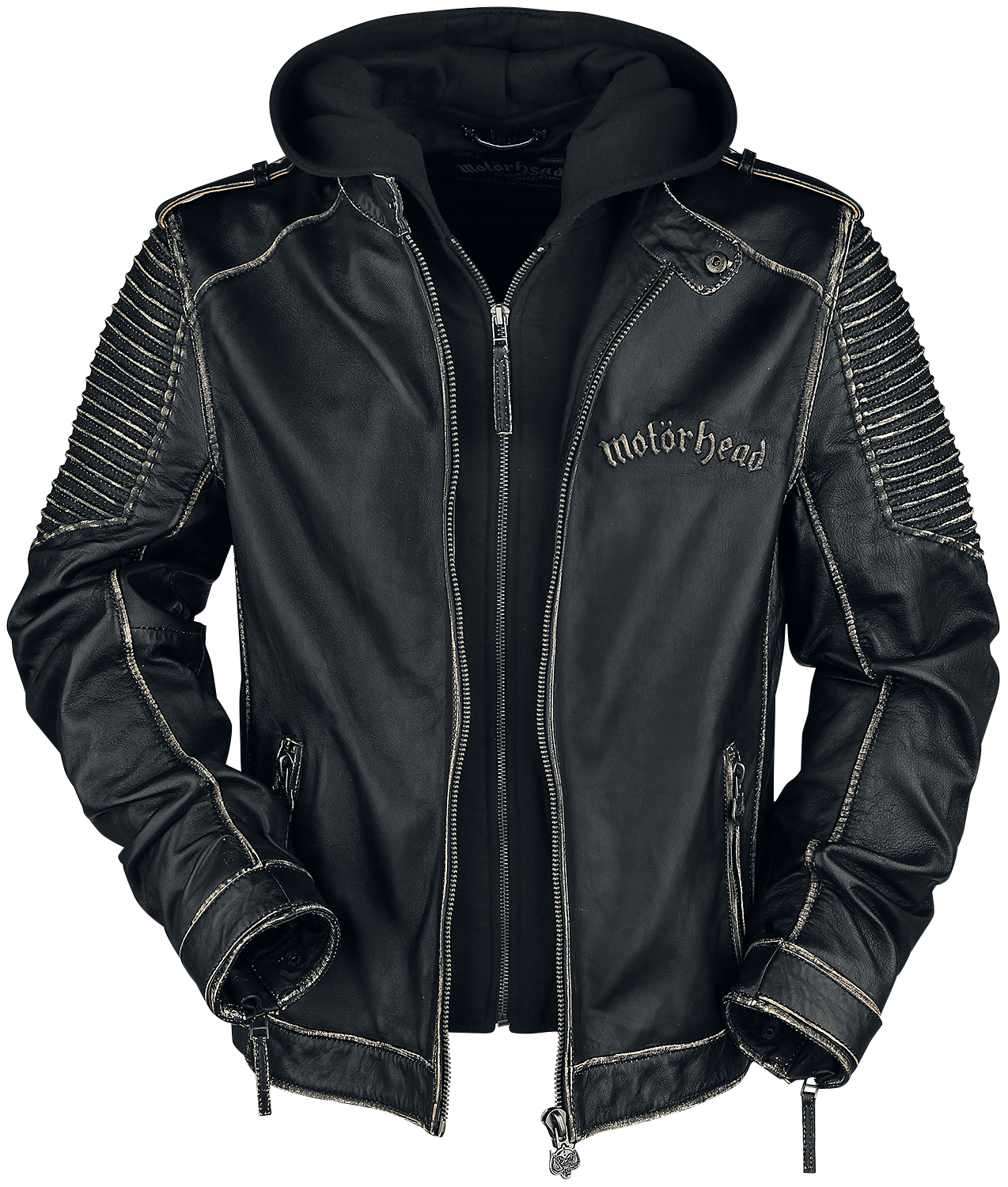 Motörhead - EMP Signature Collection - Lederjacke - schwarz - EMP Exklusiv!