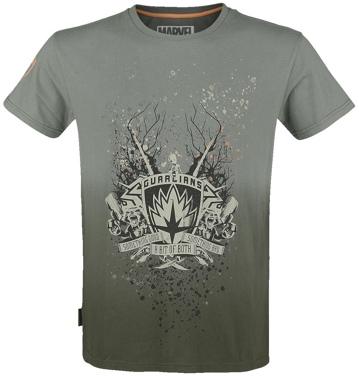Guardians Of The Galaxy - Something good - something bad - T-Shirt - khaki image