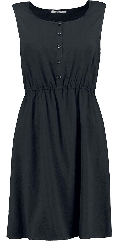 Kleider für Frauen - Hailys Lia Kleid schwarz  - Onlineshop EMP