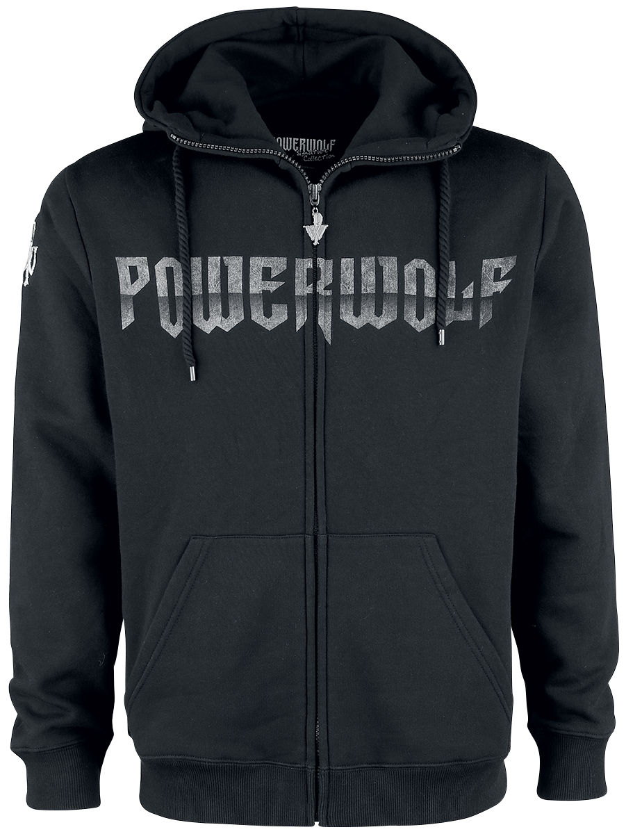 Powerwolf - Wolf Sign - Hooded zip - black image