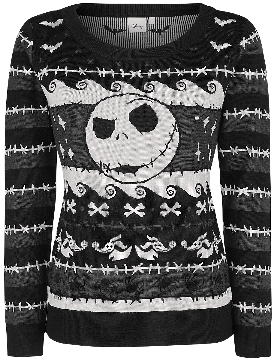 The Nightmare Before Christmas - Pumpkin King - Sweater - multicolour image
