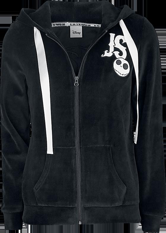 The Nightmare Before Christmas - Jack - Girls hooded zip - black image