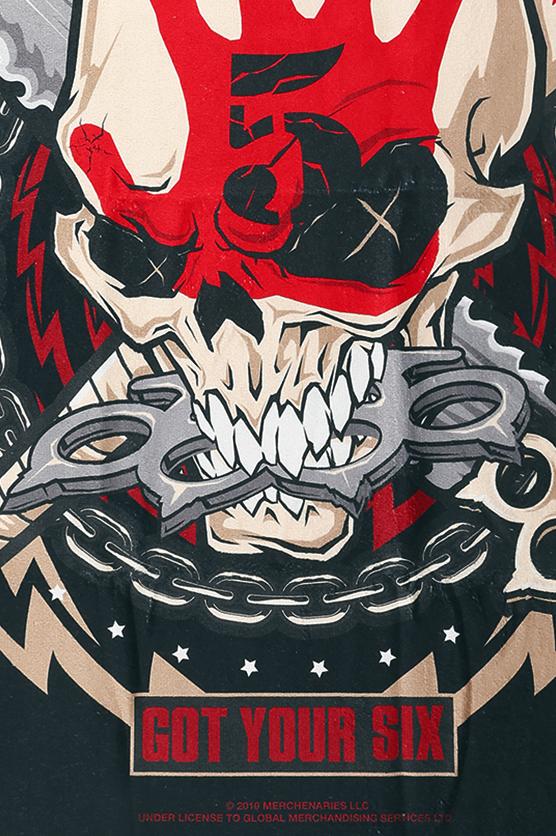 Image of Five Finger Death Punch Knuckle Head Badetuch Standard