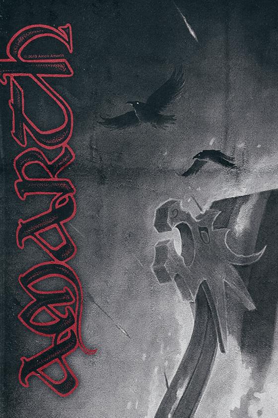 Image of Amon Amarth One Thousand Burning Arrows Badetuch Standard