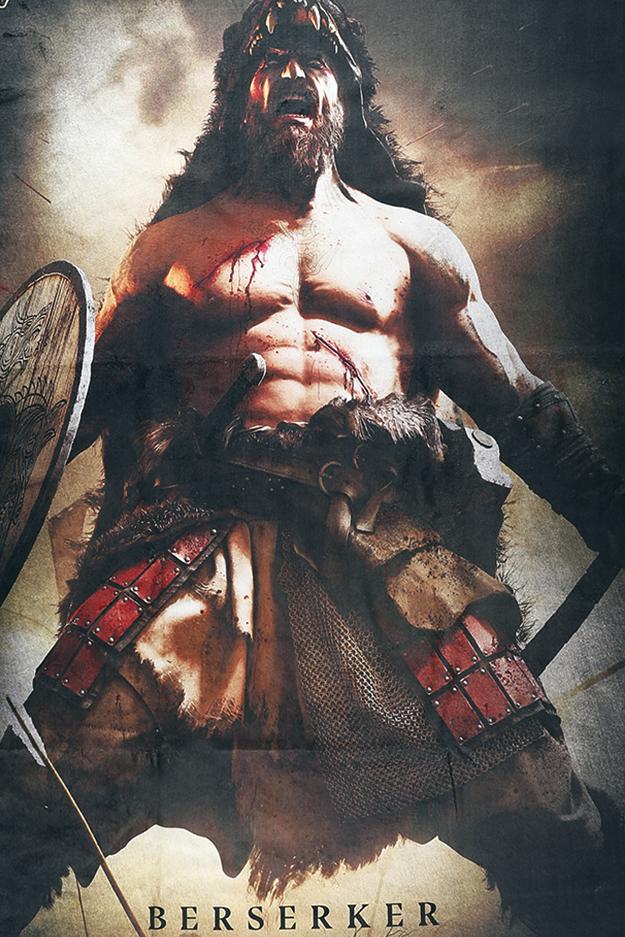 Image of Amon Amarth Berserker Badetuch Standard