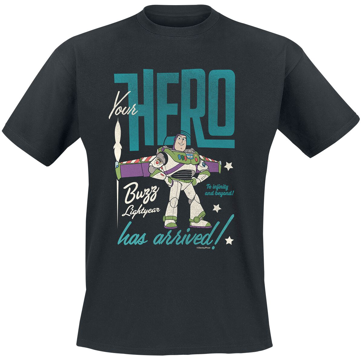 Toy Story Buzz Lightyear - Hero T-Shirt schwarz