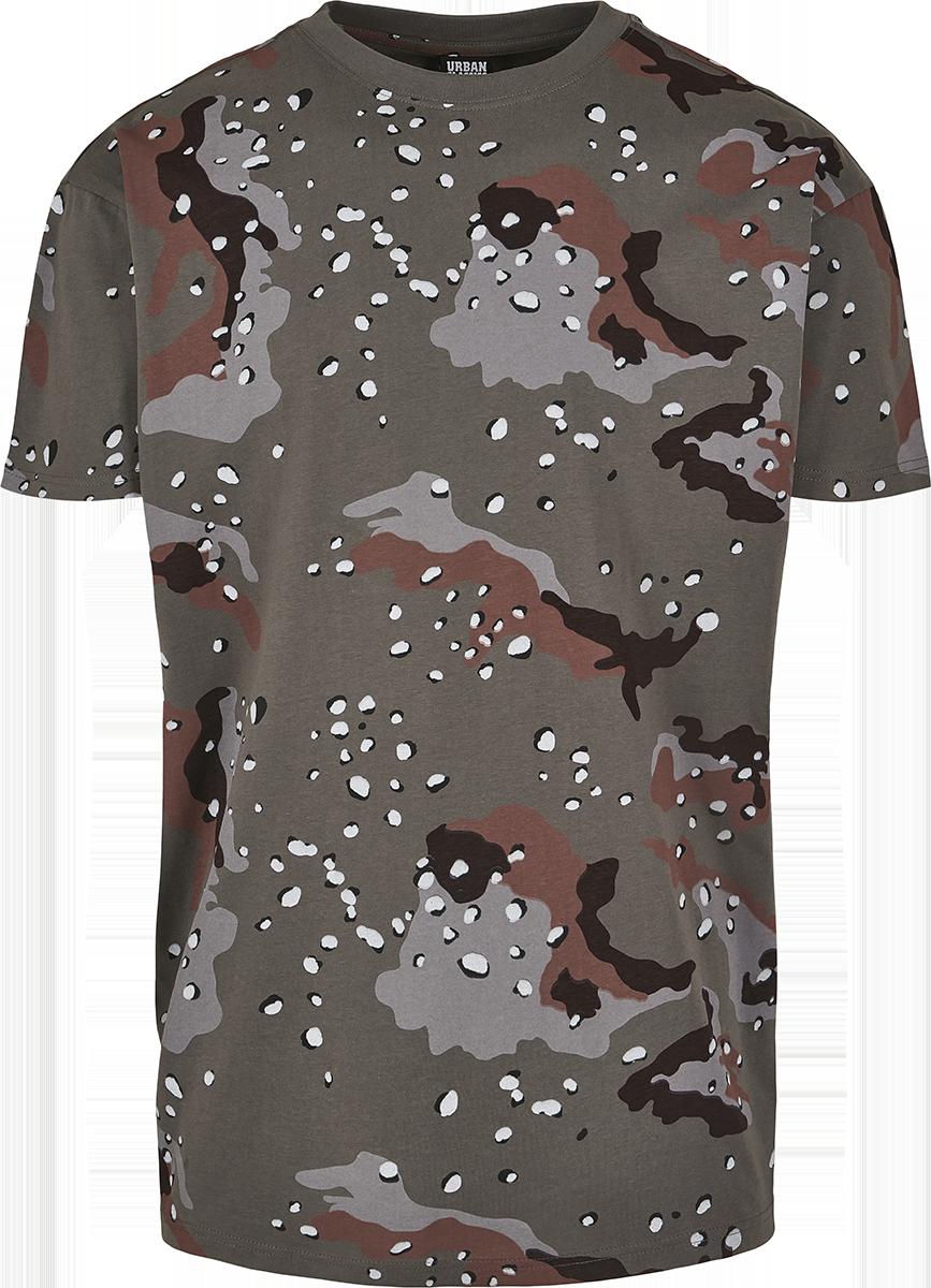 Urban Classics - Oversized Camo Tee - T-Shirt - desert camo image
