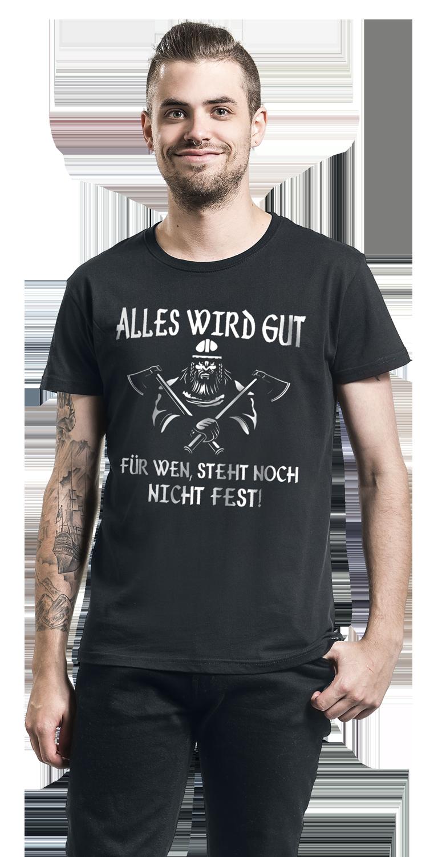 Image of Alles wird Gut ... T-Shirt schwarz