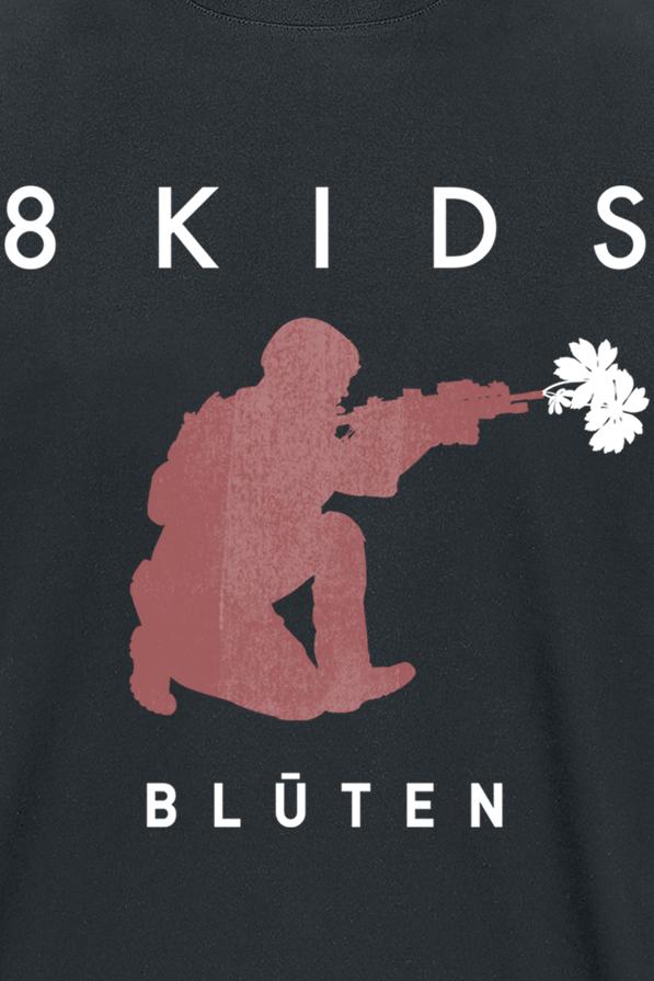 Image of 8 Kids Blüten T-Shirt schwarz