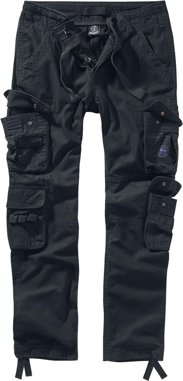 Image of Brandit Pure Vintage Trouser II Cargopant schwarz