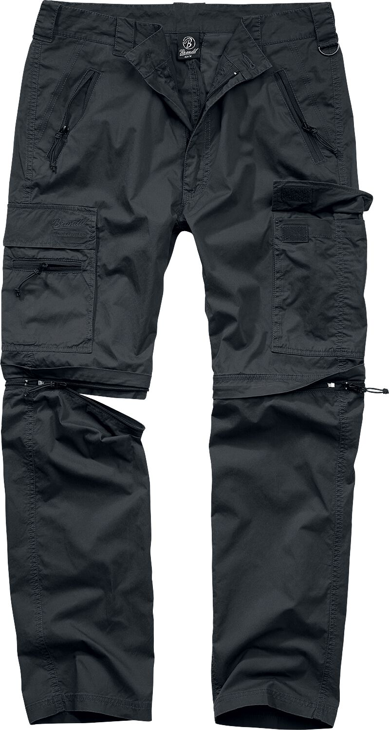 Image of Brandit All Terrain Combi Trouser Baggy schwarz