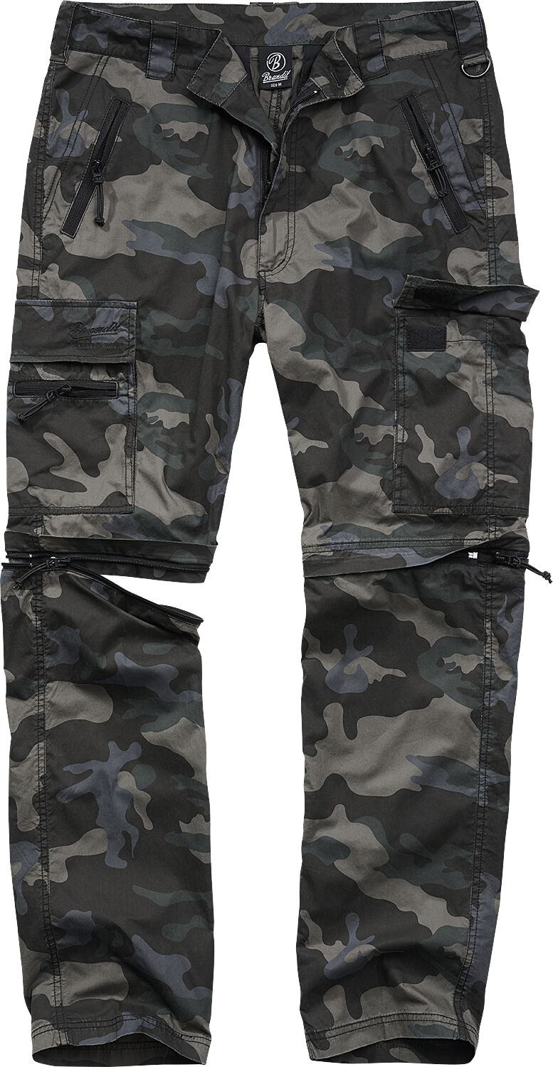 Image of Brandit All Terrain Combi Trouser Baggy darkcamo