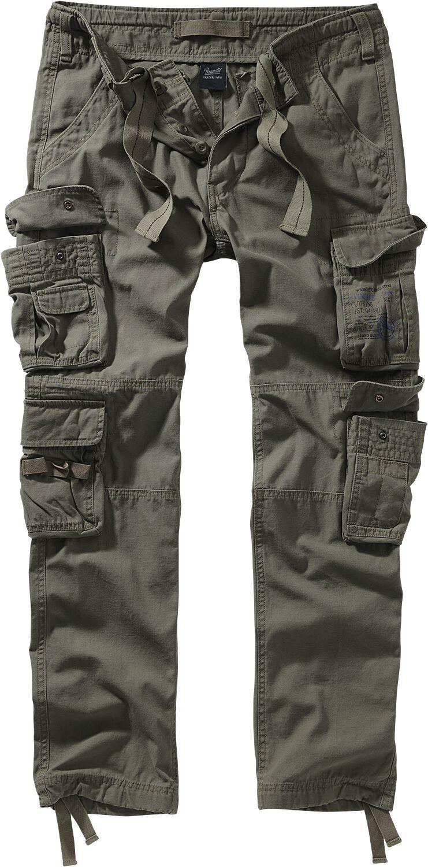 Image of Brandit Pure Vintage Trouser II Cargopant oliv