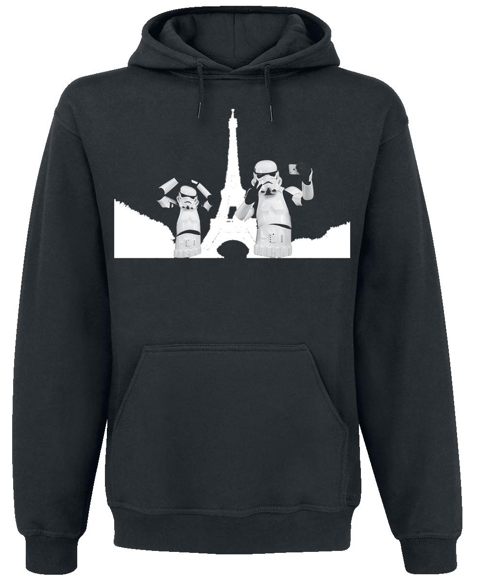 Original Stormtrooper - Selfie in Paris - Hooded sweatshirt - black image