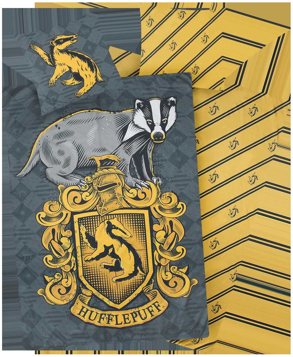 Harry Potter - Hufflepuff - Bettwäsche - multicolor - EMP Exklusiv!