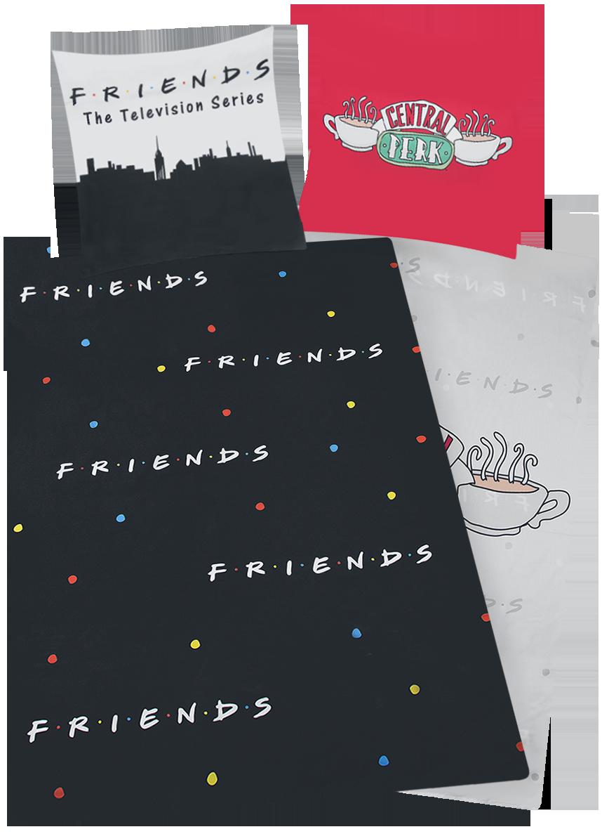 Friends - Central Perk - Bettwäsche - multicolor - EMP Exklusiv!