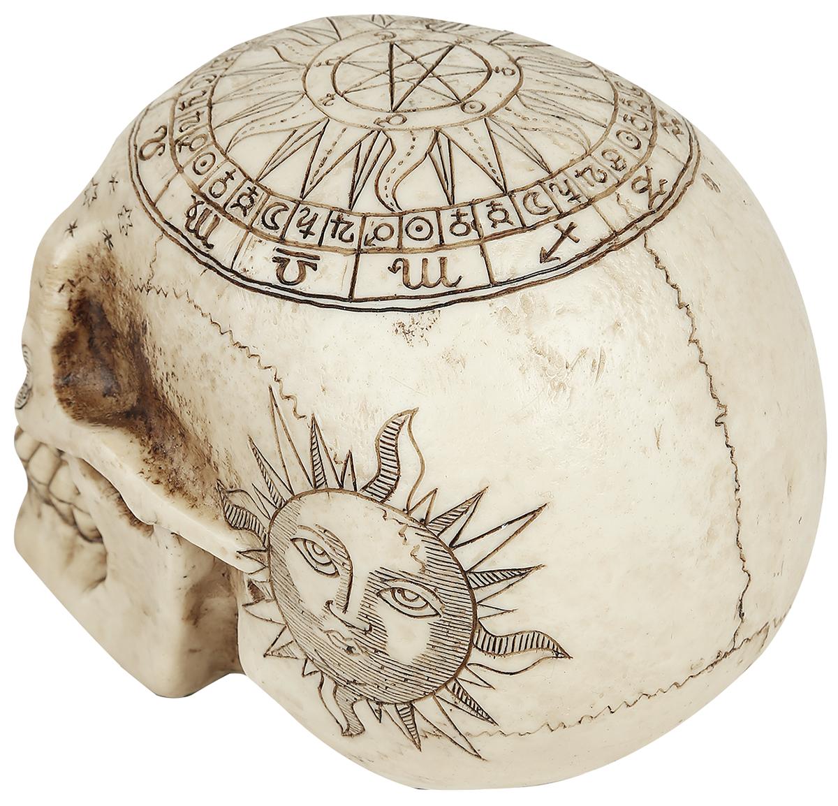 Image of Nemesis Now Astrological Skull Deko-Schädel Standard