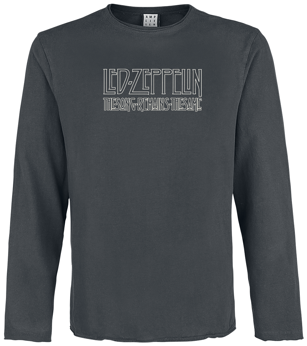 Led Zeppelin - Amplified Collection - The Song Remains The Same - Longsleeve - charcoal image