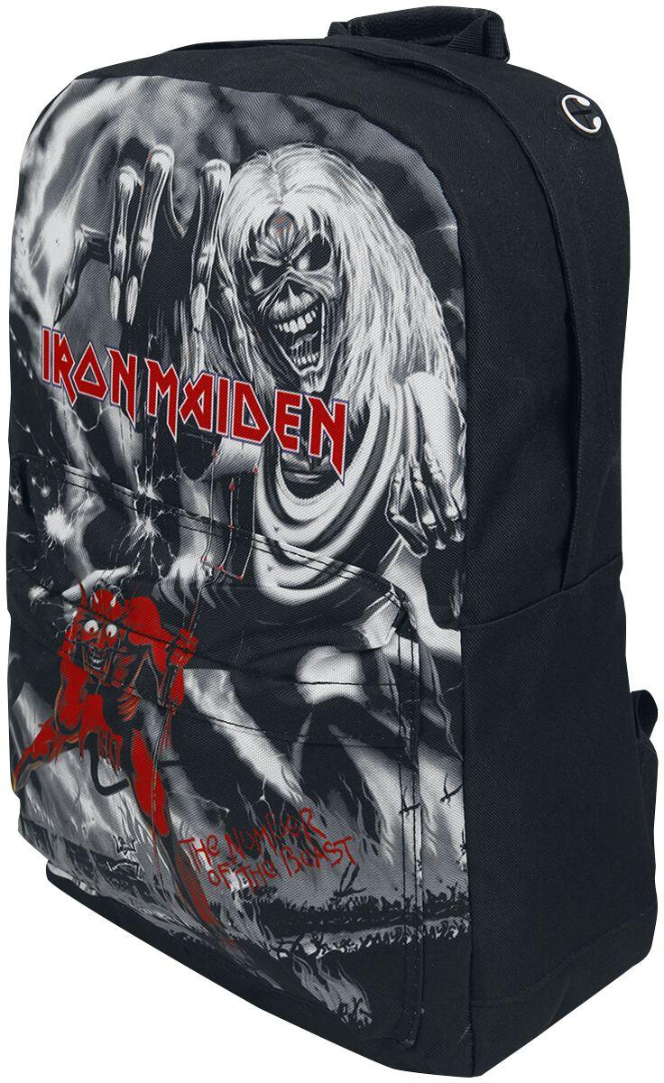 Rucksaecke - Iron Maiden Beast Pocket Rucksack schwarz  - Onlineshop EMP