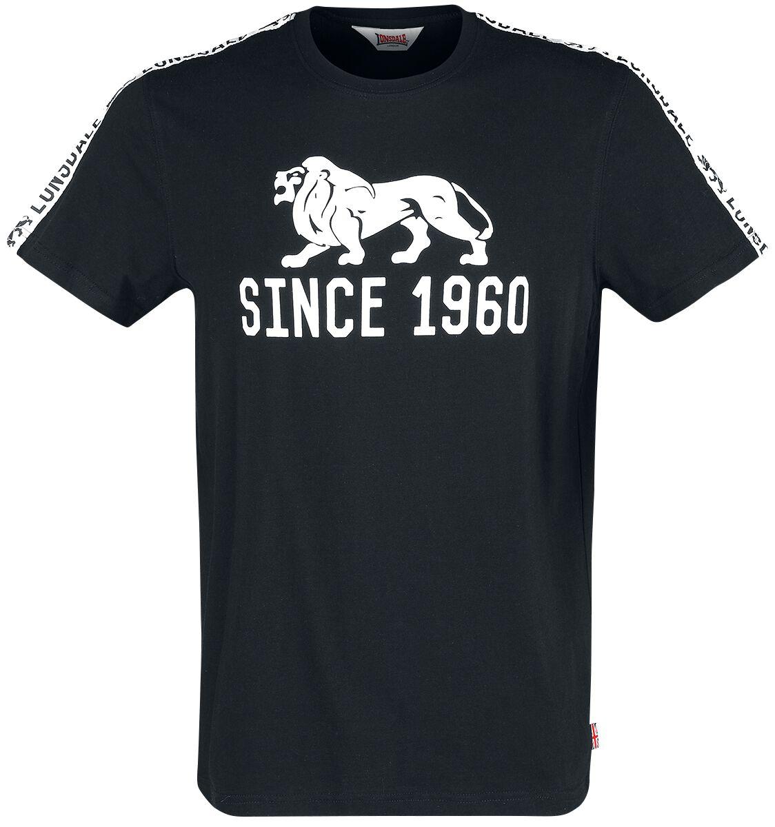 Image of Lonsdale London Bungay T-Shirt schwarz